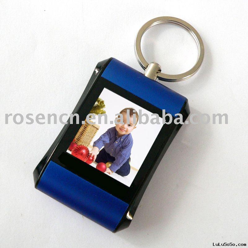 mini digital photo frame keychain, digital photo frame keyring, digital picture frame