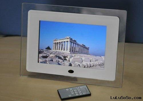 multifunction 7 inches digital photo frame