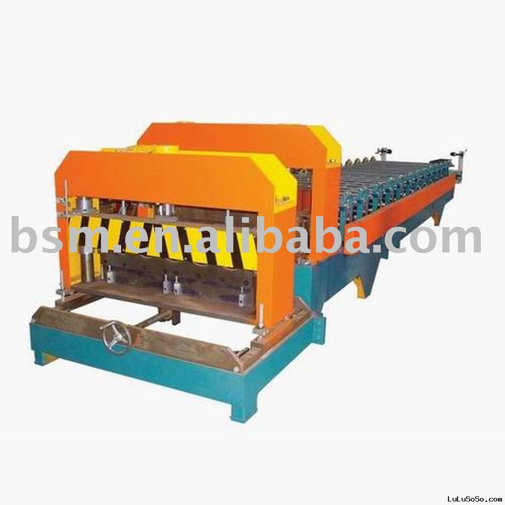 roll forming machine for Aluminium Roofing Sheets / Long Span Roofing