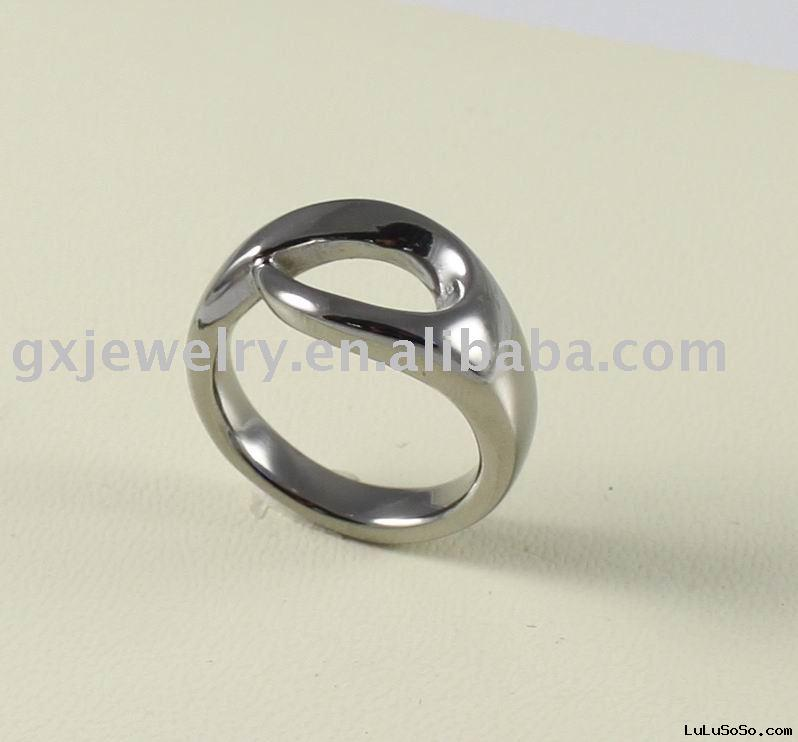 titanium ring set