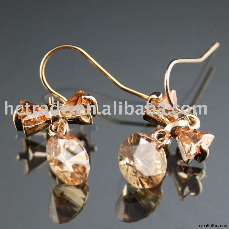 wholesale price diamond earrings 925