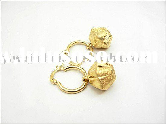 18k gold plated wholesale fashion earring