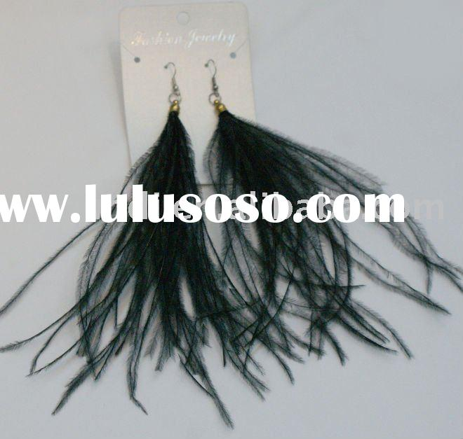 Fashion Leather Earrings Leather Jewelry