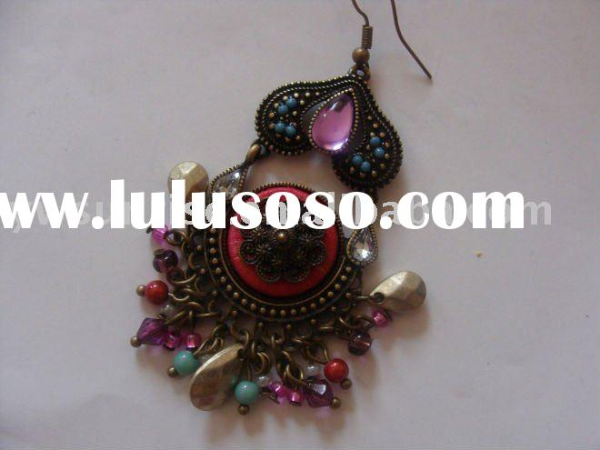 Fashion exotic long earring