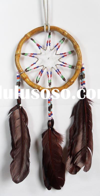 Native american craft dream catcher for sale price china for Native crafts for sale