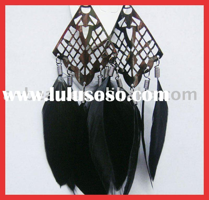 newest feather earrings