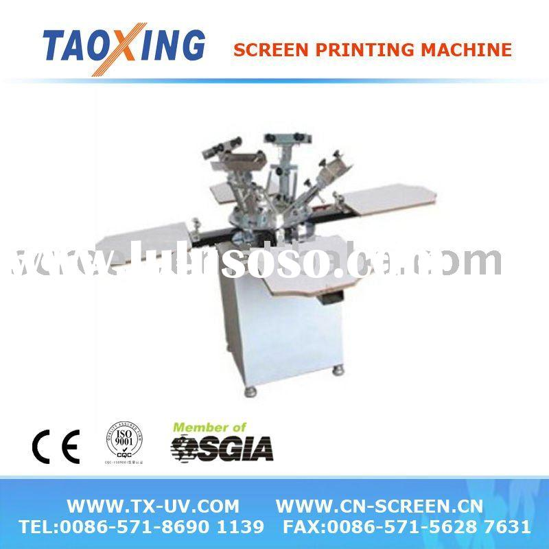 4 color T shirt printing machine