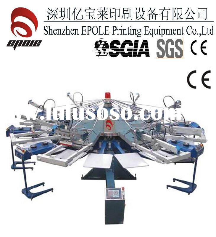 Automatic t shirt screen printing machine for sale price for Screen printing machine for t shirts for sale