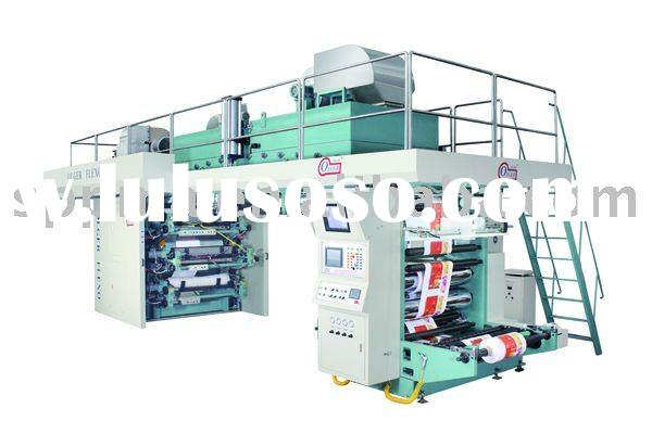 Central Impression Flexographic Printing Machine/CI Flexographic Printing Machine