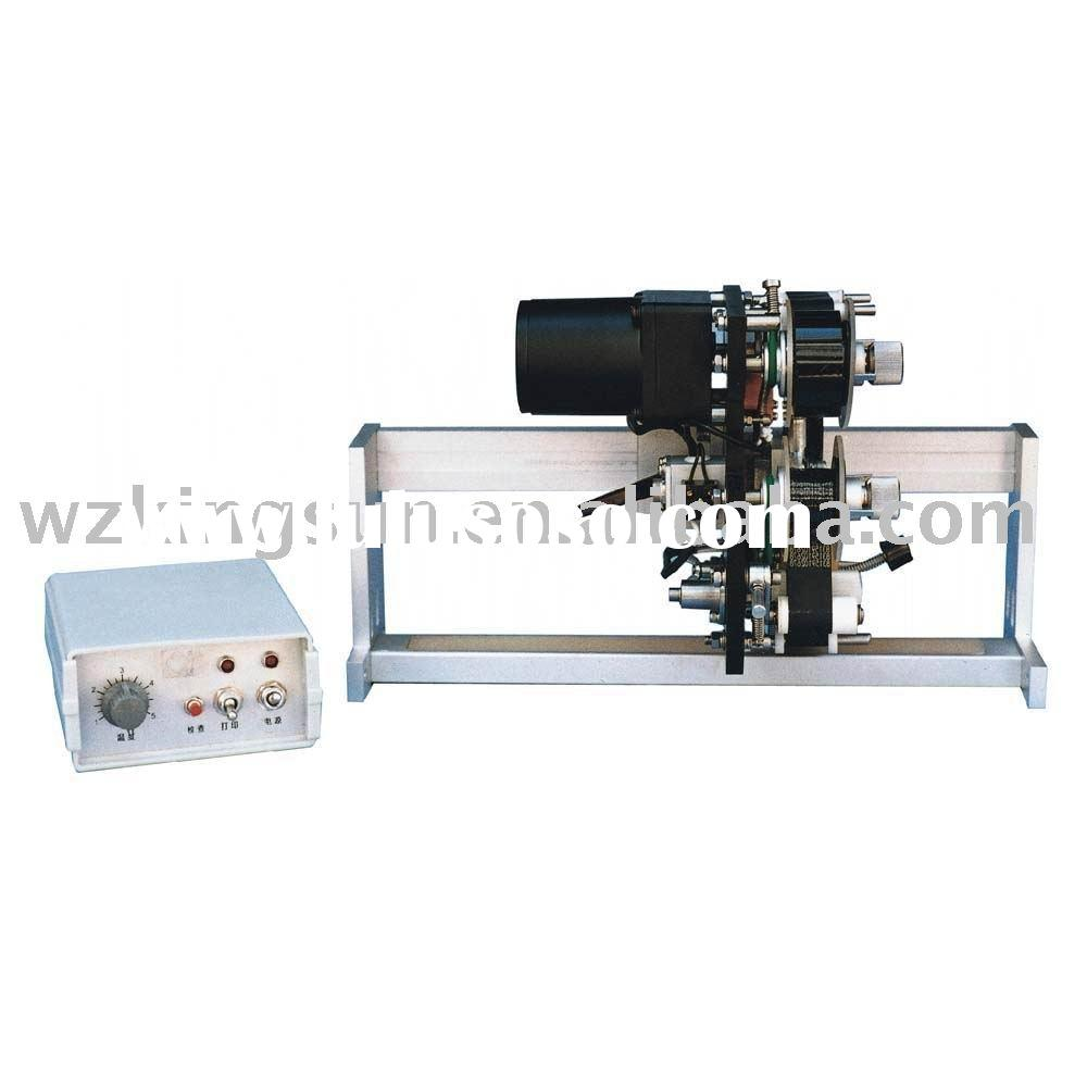 Color ribbon printing machine