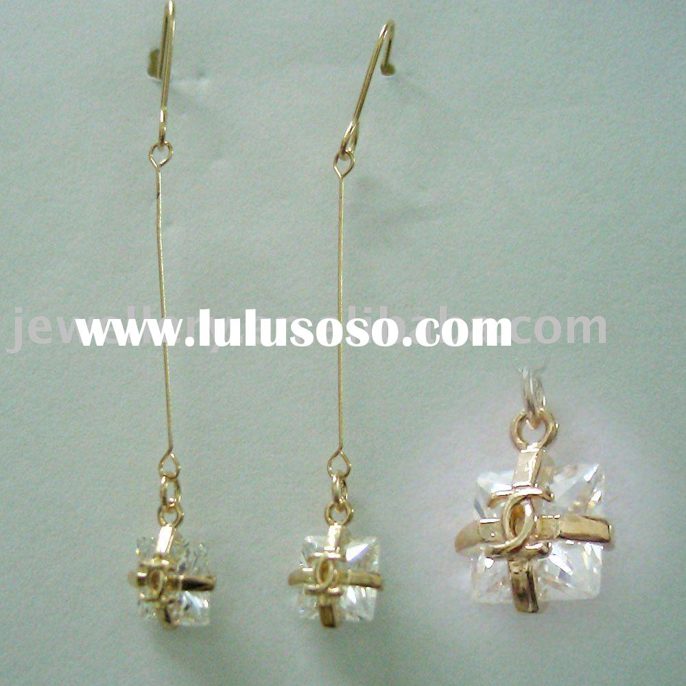 Diamond  Earrings Jewelry