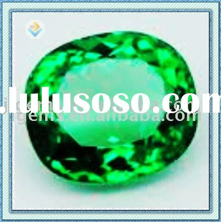 Oval Cut Emerald Gemstone