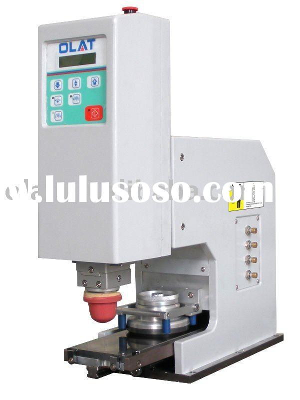 Pneumatic desk -type  pad printing machine with sealed ink-cup