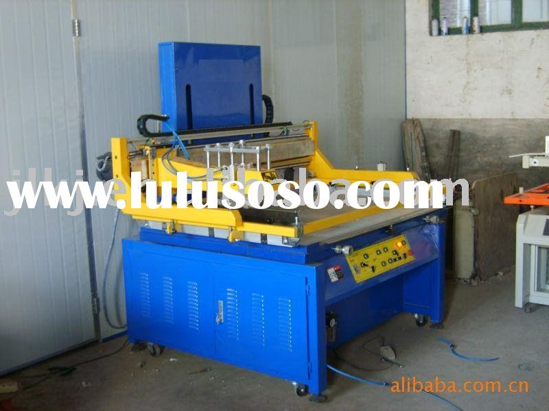 Pneumatic plane silk  screen printing machine