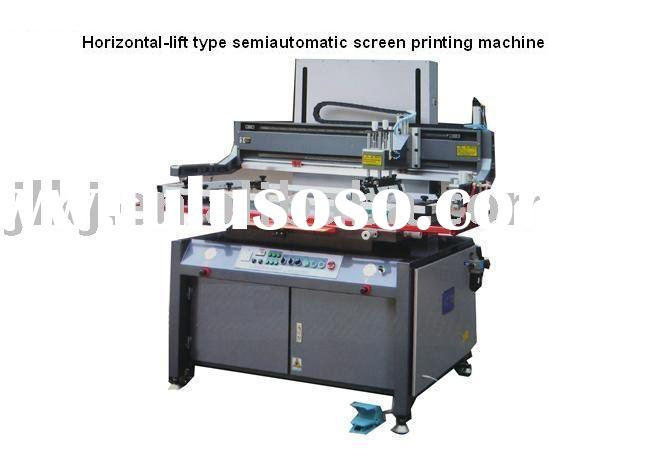 Pneumatic semi-automatic screen printing equipments