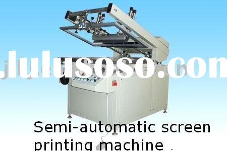 Pneumatic silk screen printing equipment