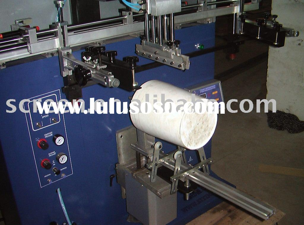 Screen printing machine for mug,bucket,barrel,cask,tub