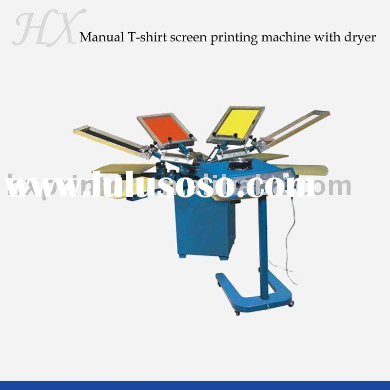 T-shirt silk screen printing machine