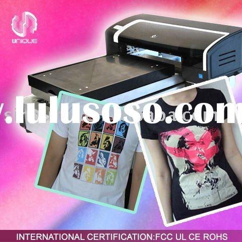 digital any color t-shirt printing machine UN-TS-MN109