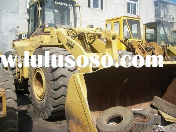 heavy equipment for sale,CAT966F,used loader,building machinery