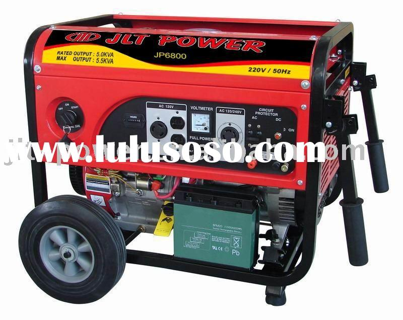portable petrol electrical generator set 5Kw