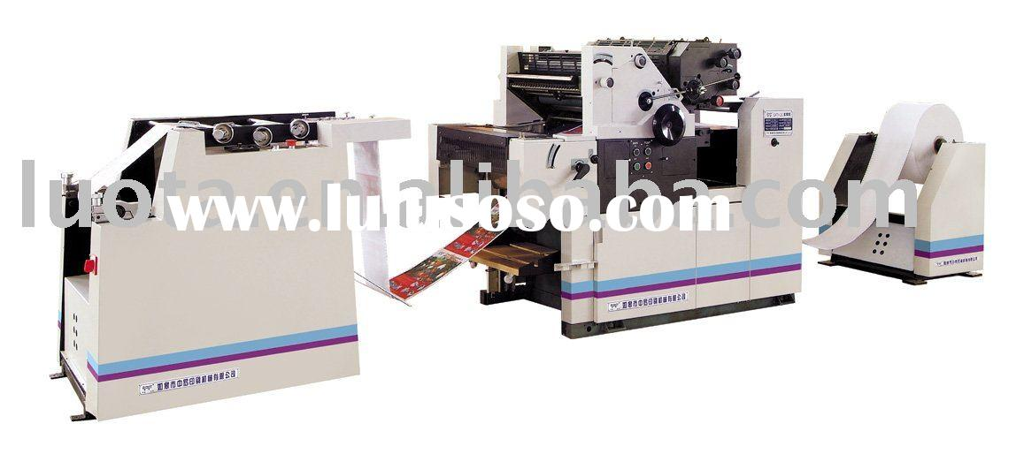 L470-2Ctwo color continuous stationery press digital offset printer