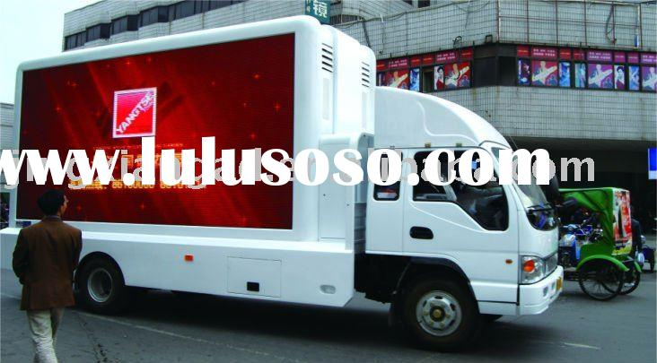 LED truck screen