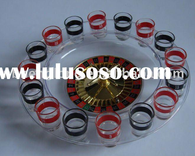 glass drinking roulette