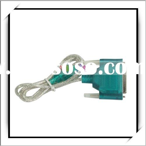 USB To Printer Cable DB25 25-Pin Parallel Port Adapter(Printer Cable)