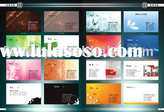 business paper card