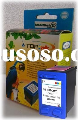 ink cartridge compatible C 6657AN HP57