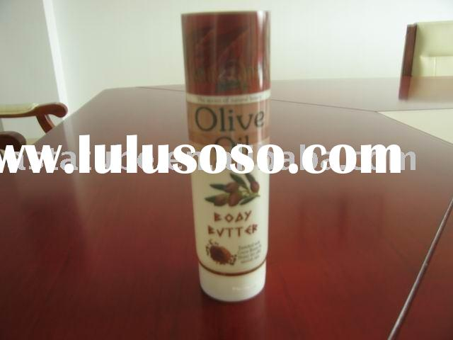 olive oil cosmetic tube