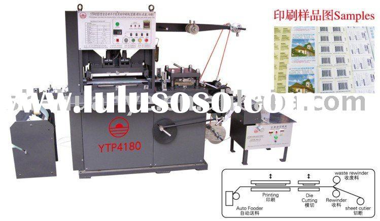 4 Color Adhesive label printing machinery (Offset ink)