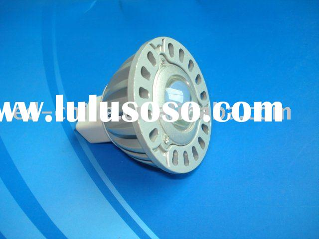 Blue LED spotlight bulb