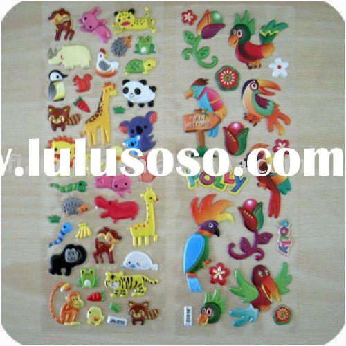 Cute Cartoon Foam Stickers
