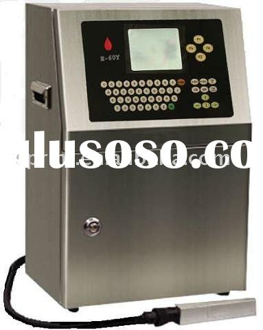 Food package printing machine