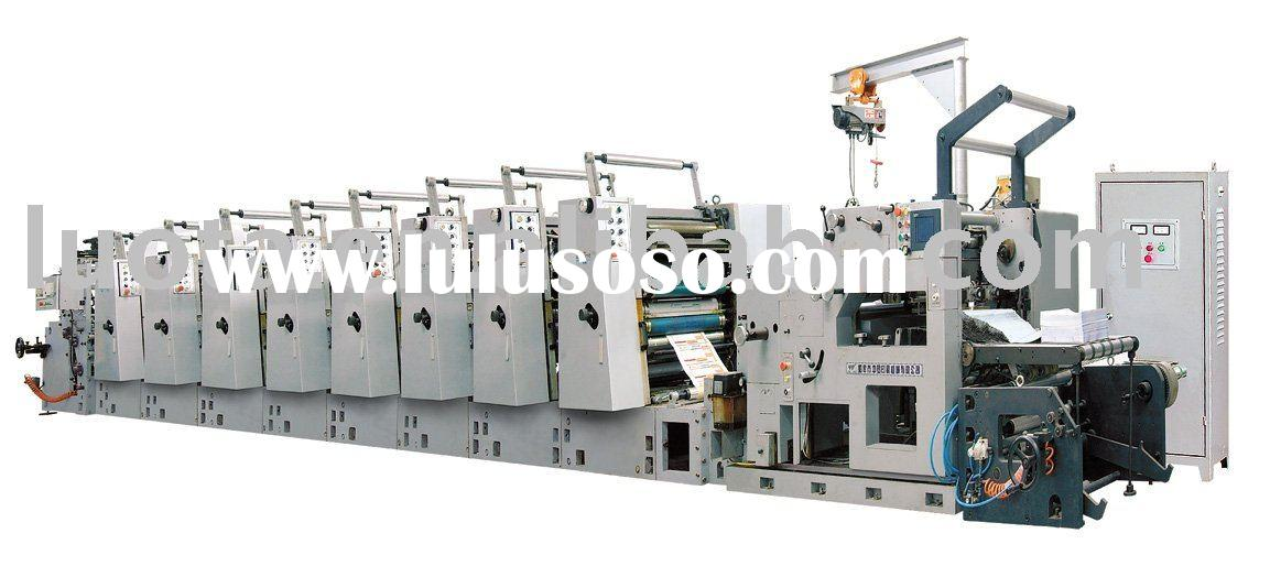 LSY-470  business form offset rotary press machine continuous forms press