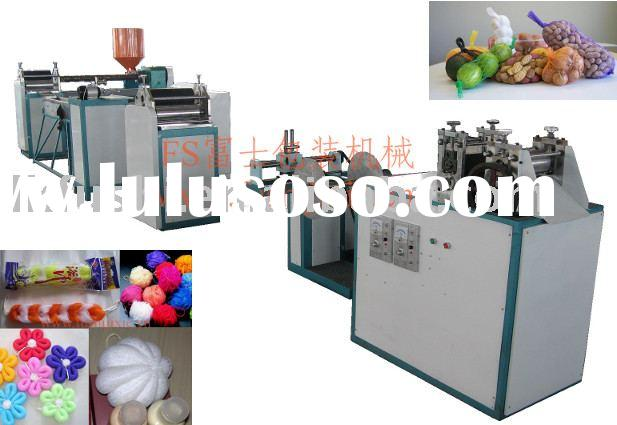 Plastic Netting Bag Machine