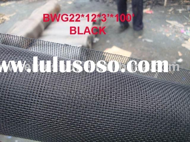Plastic Wire Netting:BLACK