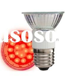 Red LED spotlight bulb