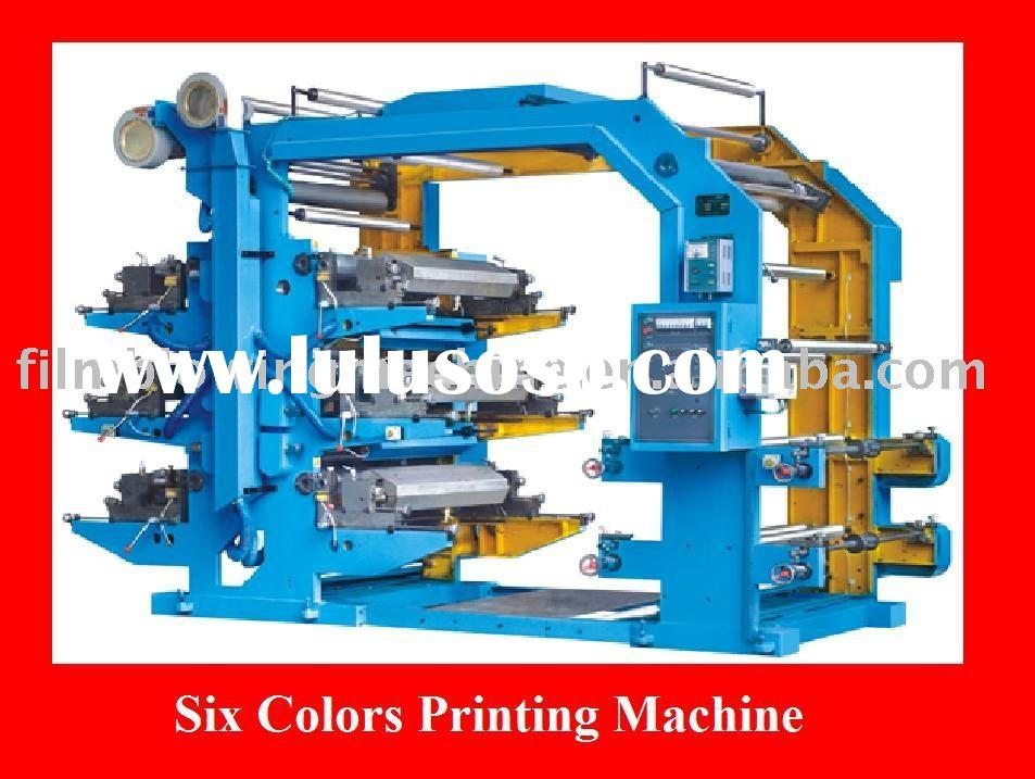Six Colors Used Printing Machine