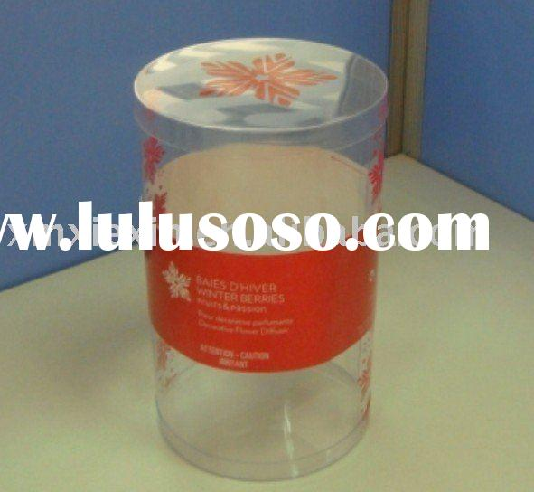 XIEXIN Clear Plastic tube for packing