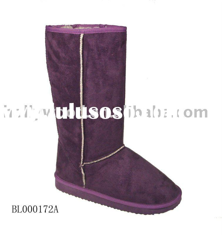 Fashion synthetic fur winter ladies Boots