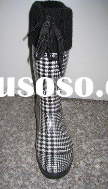 Fashionable WINTER rubber boots