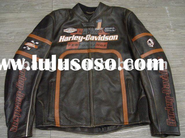 Racing leather jacket Men's Enthusiast 3-in-1 Leather
