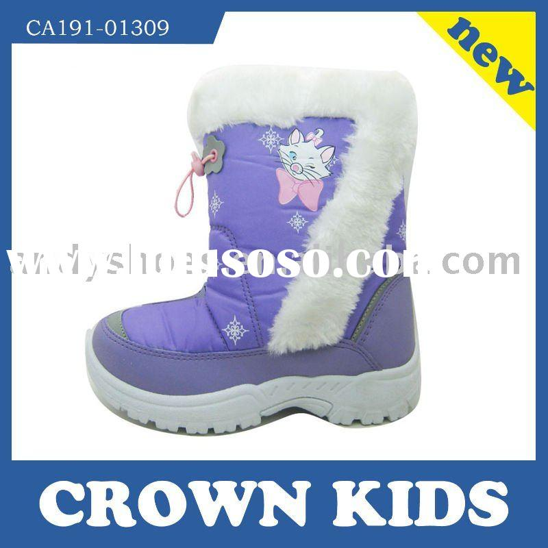 Hot selling  kids winter snow boot