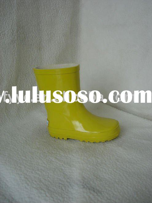 YC lovely rain & snow rubber boots for kids