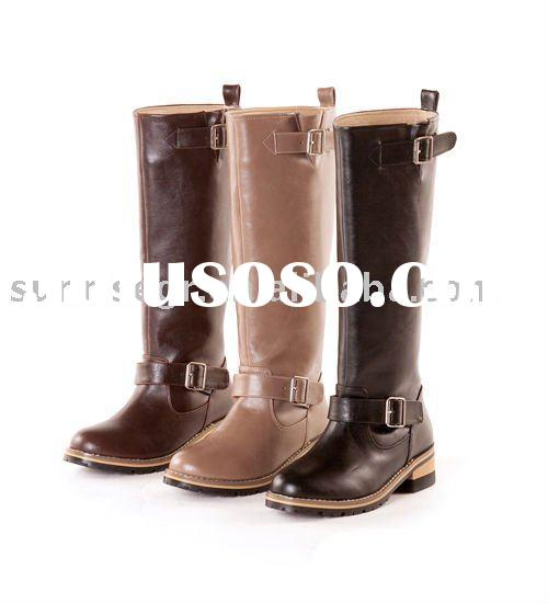 ladies fashion motorcycle boots