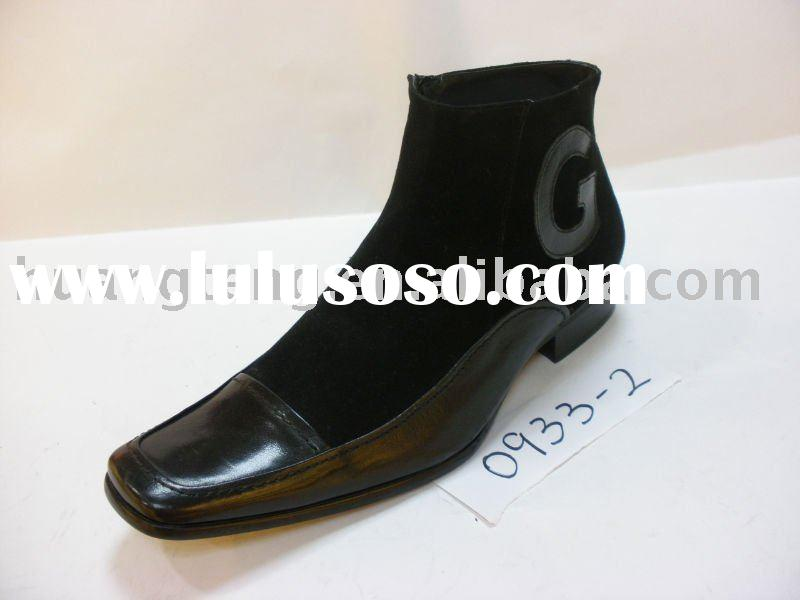 2010 Fashion Leather Man Shoes,BOOT
