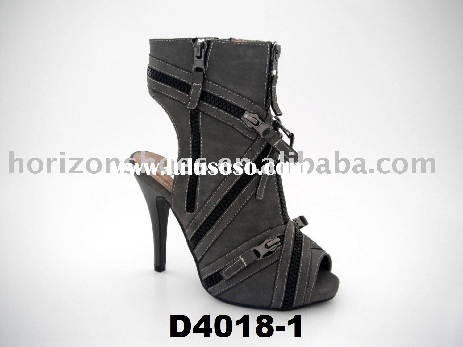 2011 Hot!Woman fashion boots, Lady shoes, High heel boots, Wholesale hot new style, D4018-1 Grey